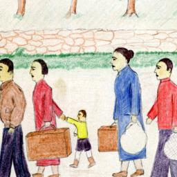 Children's Drawings of the Spanish Civil War