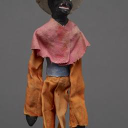 Jigging Puppet Of Black Fig...