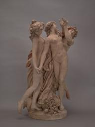 Satyr and Two Nymphs, Right 3/4