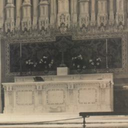 Altar & Renedas Cathedral S...