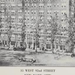 35 West 92nd Street