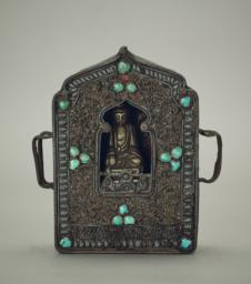 Small Buddhist Shrine, Front, closed