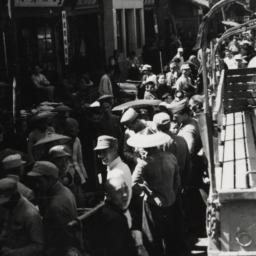 Street Scene, May '45