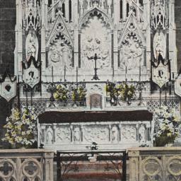 Altar of Sacred Heart, St. ...