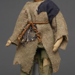Beggar Doll Made By Russian...