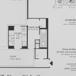 215 E. 68 Street, Apartment O