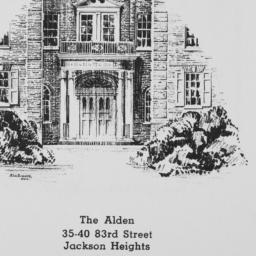 The     Alden, 35-40 83 Street