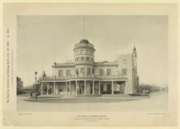 The Canadian Government Building. World's Columbian Exhibition, Chicago, Illinois. R. E. Edis, Architect