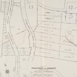 Map of Pinecrest-on-Hudson ...