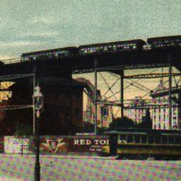 110th Street Elevated Curve...