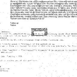 Correspondence, 2007-09-09....