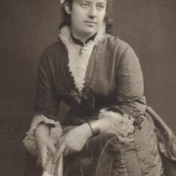 Portrait of Clara Meyer (18...