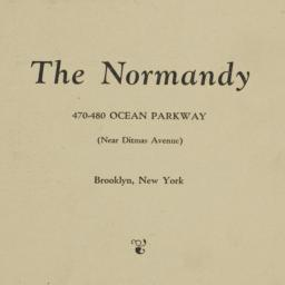 The     Normandy, 470-480 O...