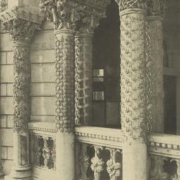 Porch columns, Fisheries Bu...