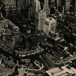 Aerial View of Lower New York