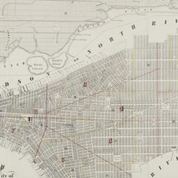 Map of the city of New-York...
