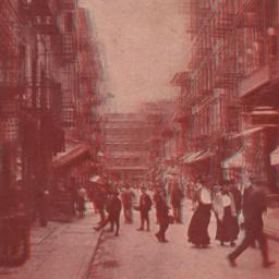 Chinatown, New York.