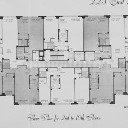 225 E. 70 Street, Plan For ...