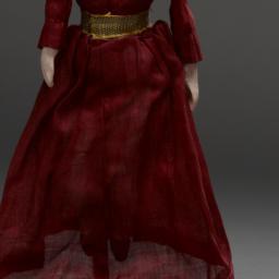 Marionette Of Queen In Red ...