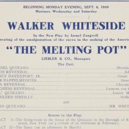 Melting Pot program