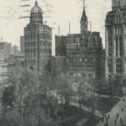 City Hall and Newspaper Squ...