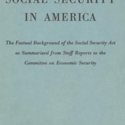 Social security in America