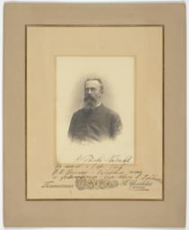 Nikolai Rimskii-Korsakov Portrait Inscribed to Fiodor Chaliapin
