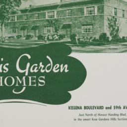 Lewis Garden Homes, Kissena...