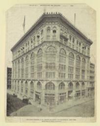 The Cable Building, N. W. corner Broadway and Houston  St., New York. McKim, Mead & White, Architects