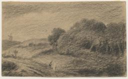 Landscape with Two Figures on a Road