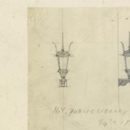 N. Y. Public Library Lamps