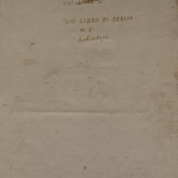 Serlio Book VI Plate 00