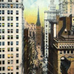 Wall Street, Looking Toward...