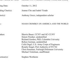 Minutes, 2012-10-11. Twenti...