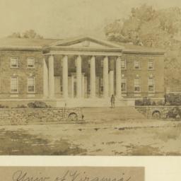 Univ. of Virginia. Refectory