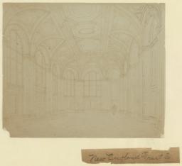 New England Trust Co., [interior]