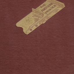 The     American Printer: A...