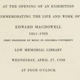 Invitation to the Edward Ma...