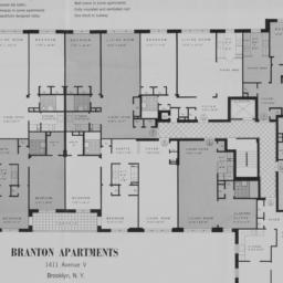 Branton Apartments, 1411 Av...