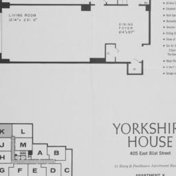 Yorkshire House, 405 E. 81 ...
