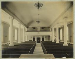 [Free Christian Church, interior]