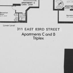 311 E. 83 Street, Apartment...