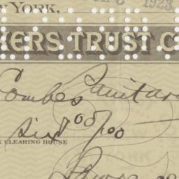 Bankers Trust Company. Bill...