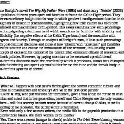 Minutes, 2009-05-08. Irish ...