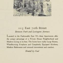 115 East 70th Street
