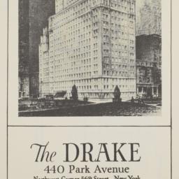 Drake, 440 Park Avenue, 3rd...