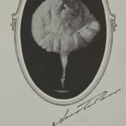 Souvenir program of Anna Pa...