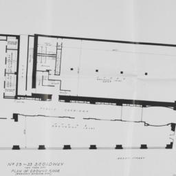 29 Broadway, Plan Of Ground...