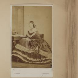Miss Dempster, Seated
