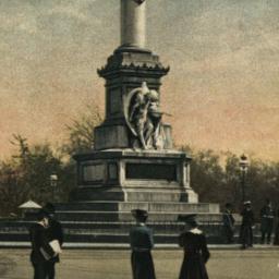 Columbus Monument. New York.